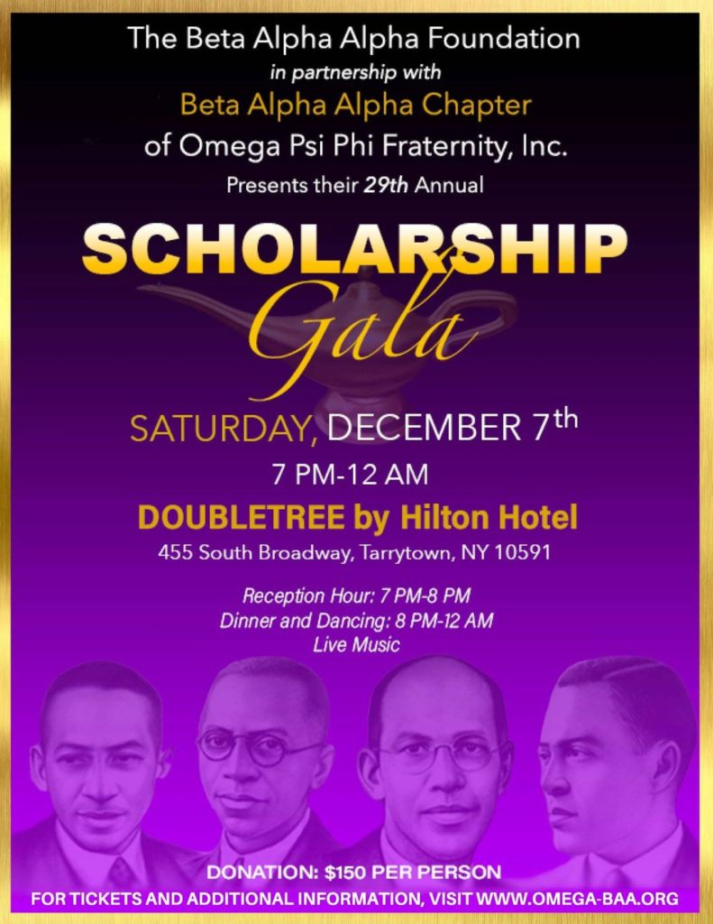 Beta Alpha Alpha Scholarship Gala Details