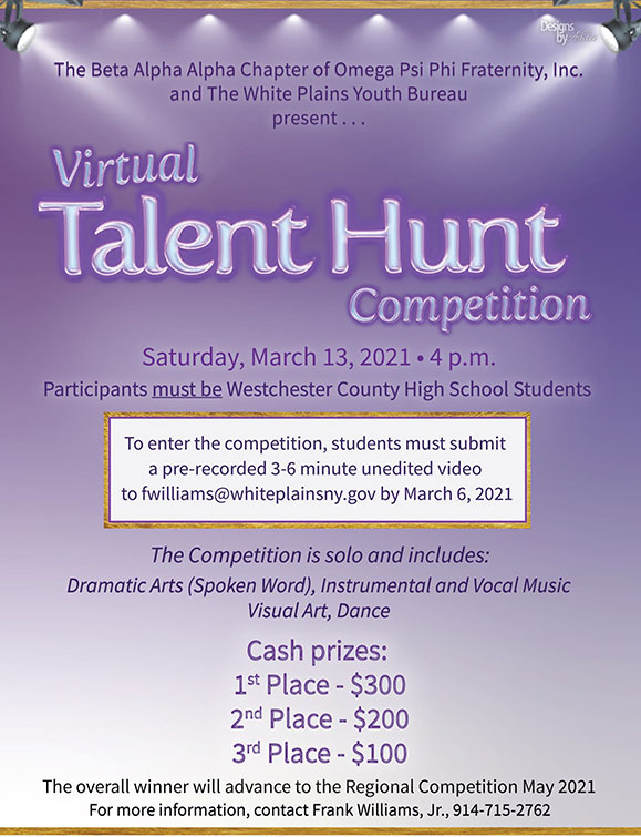 Virtual Talent Hunt Competition - 3/13 4PM